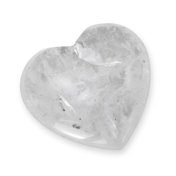 "Bergkristall Herz ""Clear-Heart"""