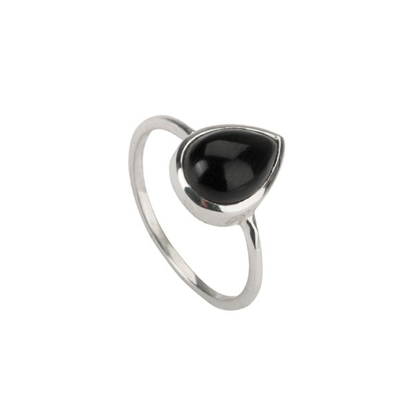Simply Züssi Obsidian Ring